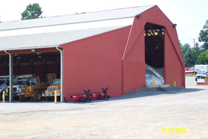 Frederick Co. Dept. of Highways, Myersville Maint. Facility Salt Storage Building